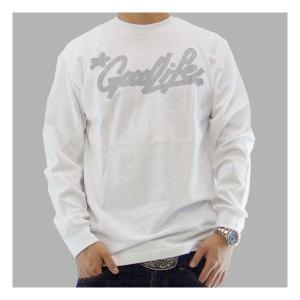 【SALE】Good Life WOGLMKLT MARKER L/S TEE White/Gray グッドライフ WOGLMKLT マーカー L/S Tシャツ ホワイト/グレー|cio