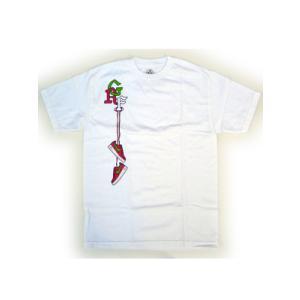 GOLIATH SNEAKER HANGING S/S TEE WHITE ゴライアス スニーカー ハンギング S/S Tシャツ ホワイト|cio