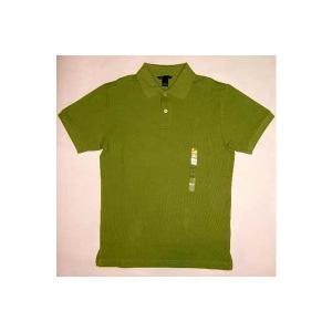 【SALE】H&M S/S POLO SHIRTS Green ヘンネスアンドモーリッツ(エイチアンドアム) ポロシャツ グリーン cio