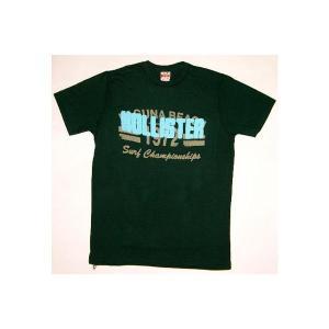 HOLLISTER S/S TEE ArmyGreen ホリスター S/S Tシャツ アーミーグリーン|cio