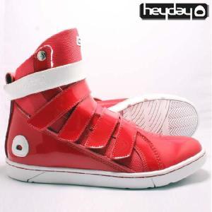 ヘイデイ スーパー ディブ レッド ホワイト Heyday Super Deb Red White|cio