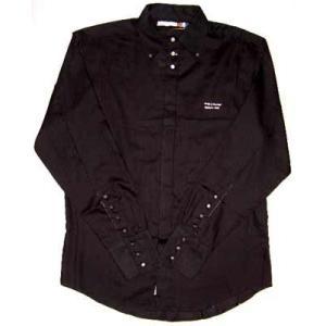 【SALE】INDIGO RED L/S Shirts Black インディゴレッド L/S シャツ ブラック|cio