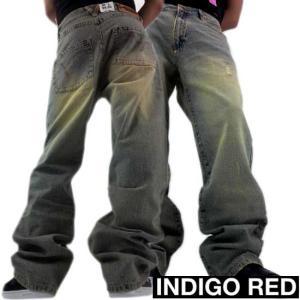 INDIGO RED DENIM PANTS 02 BLUE WASH インディゴレッド デニムパンツ 02 ブルーウォッシュ cio