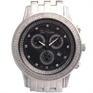 ジョーロデオ シシリー クロノグラフ ダイヤモンド ウォッチ JRS10 ブラック Joe Rodeo Sicily CHRONOGRAPH Diamond Watch cio