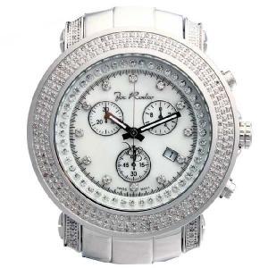 ジョーロデオ ジュニア クロノグラフ ダイヤモンド ウォッチ JJU4 ホワイト シェル Joe Rodeo Junior CHRONOGRAPH Diamond Watch cio