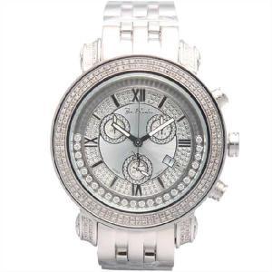 ジョーロデオ タイラー クロノグラフ ダイヤモンド ウォッチ JTM1 Silver Joe Rodeo Tyler CHRONOGRAPH Diamond Watch JTM1(w) cio
