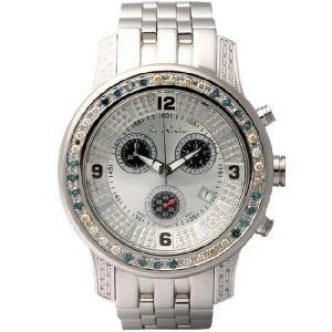 ジョーロデオ 2000(マルチ) クロノグラフ ダイヤモンド ウォッチ R201 シルバー Joe Rodeo 2000(multi) CHRONOGRAPH Diamond Watch cio