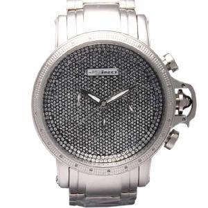 ジョジーノ R.O.N.Y. クロノグラフ ダイヤモンド ウォッチ IJ1058 ブラック JOJiNO R.O.N.Y. CHRONOGRAPH Diamond Watch IJ1058(B)Black|cio