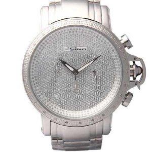 ジョジーノ R.O.N.Y. クロノグラフ ダイヤモンド ウォッチ IJ1058 ホワイ JOJiNO R.O.N.Y. CHRONOGRAPH Diamond Watch IJ1058(W) White|cio