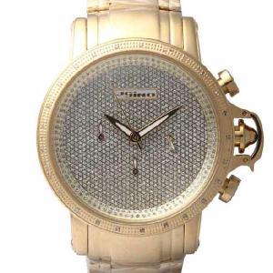 ジョジーノ R.O.N.Y. クロノグラフ ダイヤモンド ウォッチ IJ1059 ゴールド JOJiNO R.O.N.Y. C HRONOGRAPH Diamond Watch Gold|cio