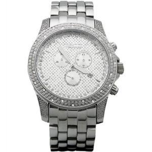 ジョジーノ クロノグラフ ダイヤモンド ウォッチ シルバー シルバー MJ-1121 JOJiNO CHRONOGRAPH Diamond Watch Silver Silver MJ-1121|cio