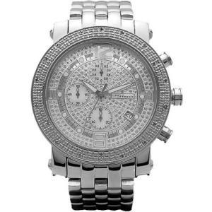 ジョジーノ クロノグラフ ダイヤモンド ウォッチ シルバー シルバー JOJiNO CHRONOGRAPH Diamond Watch Silver Silver MJ-1054A|cio