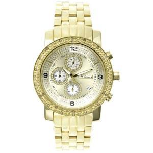 ジョジーノ クロノグラフ ダイヤモンド ウォッチ ゴールド ゴールド MJ-1056 JOJiNO CHRONOGRAPH Diamond Watch Gold Gold MJ-1056|cio