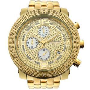 ジョジーノ クロノグラフ ダイヤモンド ウォッチ ゴールド ゴールド MJ-1056A JOJiNO CHRONOGRAPH Diamond Watch Gold Gold MJ-1056A|cio