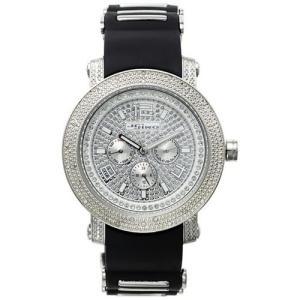 ジョジーノ クロノグラフ ダイヤモンド ウォッチ シルバー シルバー MJ-1186 JOJiNO CHRONOGRAPH Diamond Watch Silver Silver MJ-1186|cio