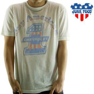 JUNK FOOD S/S T-Shrit Buy American CHEVROLET Sugar ジャンクフード S/S Tシャツ バイ アメリカン シボレー シュガー|cio