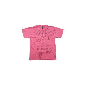 【SALE】KISER AK EXPLODED S/S TEE Pink カイザー エーケー エクスプローデッド S/S Tシャツ ピンク|cio