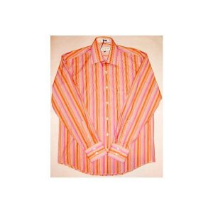 【SALE】LINEA DOME L/S SHIRTS Stripe Pink リネアドーム L/S シャツ ストライプ ピンク|cio