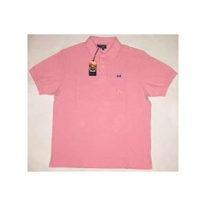 【SALE】LION BRAND S/S POLO Pinnk ライオンブランド S/S ポロシャツ ピンク|cio
