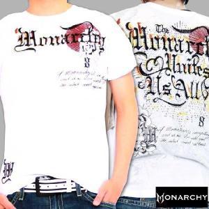 【SALE】モナーキー S/S Tシャツ ユナイツ ホワイト MONARCHY S/S TEE Unites White|cio