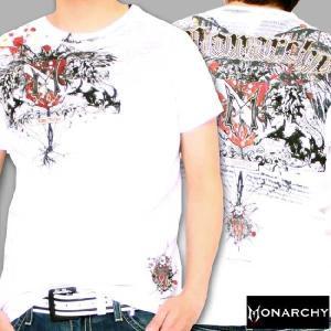 【SALE】モナーキー S/S Tシャツ フリー スピリット クルー ホワイト MONARCHY SS TEE FREE SPIRIT CREW White|cio