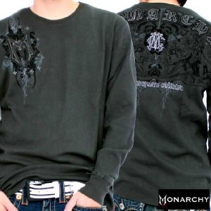【SALE】モナーキー L/S Tシャツ ネバー フォーゲット ブラック MONARCHY L/S TEE Never Forget Black|cio