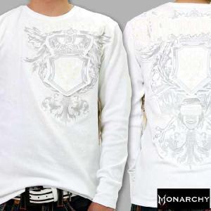 【SALE】モナーキー L/S Tシャツ ライブ リッチ ホワイト MONARCHY L/S TEE Live Rich White|cio