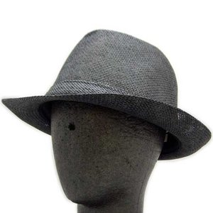MARC JACOBS Straw Hat Black マークジェイコブス ストロー ハット ブラック|cio