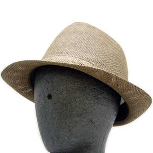 MARC JACOBS Straw Hat Brown マークジェイコブス ストロー ハット ブラウン|cio