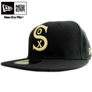 ゴールドロゴ クーパーズタウン カスタム シカゴ ホワイトソックス ブラック/ゴールド New Era Cap COOPERS TOWN CUSTOM Chicago White Sox Black/Gold |cio