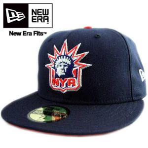 ニューエラ キャップ マルチロゴ ニューヨーク レンジャース ダークネイビー/レッド New Era Cap Multi Logo NHL New York Rangers Navy cio