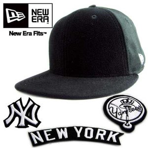 ニューエラ キャップ スペシャルロゴ パッチ ニューヨーク ヤンキース ブラック/ホワイト New Era Cap PATCH NewYorkYankees Black|cio