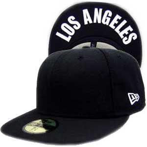 ニューエラ キャップ アンダーバイザーシリーズ ロサンゼルス ブラック プレーン/ホワイト New Era Cap UNDER VISOR SERIES LosAngeles BlackPlain/White|cio