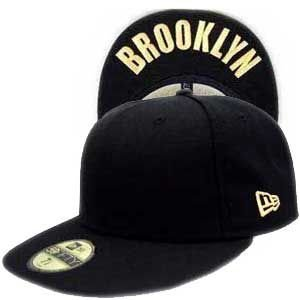 ニューエラ キャップ アンダーバイザーシリーズ ブルックリン ブラック/プレーン/ゴールド New Era Cap UNDER VISOR SERIES BROOKLYN BlackPlain/Gold|cio