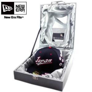ニューエラキャプチャーザフラッグ ダブルビーシー スペシャルボックス キャップ New Era CAPTURE THE FLAG 2009 WBC Japan Special Box Cap|cio