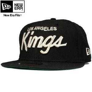ニューエラ 5950キャップ シルバーロゴ ロサンゼルスキングス ブラック メタリックシルバー New Era 59FIFTY Cap Los Angels KINGS Black Metallic Silver cio