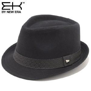 イーケーバイニューエラ ハット ザ トリルビー コットン イーケーロゴバンド ブラック ブラック EK by New Era Hat The Trilby Cotton Ek Logo band Black Black cio