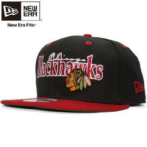ニューエラ 950 スナップバック キャップ シカゴブラックホークス ブラック New Era 9Fifty Cap Snap Back Collection Chicago Black Hawks cio