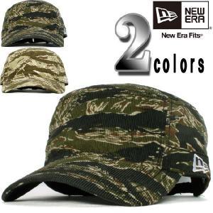 ニューエラ ワークキャップ WM03 タイガーカモ コーデュロイ 2カラーズ New Era Work Cap WM03 Tiger Camo Corduroy 2Colors|cio