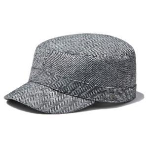 イーケーバイニューエラ ワークキャップ ブリゲード ウールヘリンボーン グレー EK by New Era Work Cap Brigade Wool Herringbone Gray(Grey)|cio