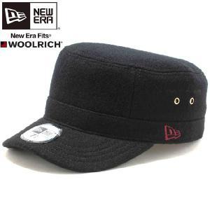ウールリッチ(R)×ニューエラ ワークキャップ WM01 ブラック ラセット WOOLRICH(R)×New Era Work Cap WM01 Black Russet|cio