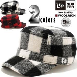 ウールリッチ(R)×ニューエラ ワークキャップ WM01 アジャスタブル ゴルフ 2カラーズ WOOLRICH(R)×New Era Work Cap WM01 Adjustable Golf 2colors|cio