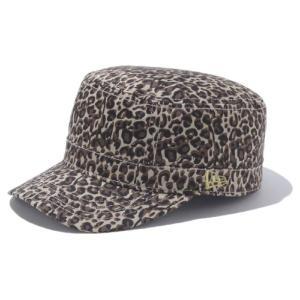 ニューエラ ワークキャップ WM01 オールオーバー ブラウンレオパード メタリックゴールド New Era Work Cap WM01 All Over Brown Leopard Metallic Gold|cio