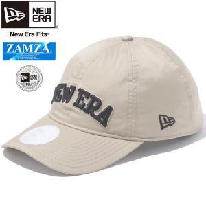 ザムザ(R)×ニューエラ 920キャップ ゴルフ ウォータープルーフ ベージュ ブラック パーフェクトタン ZAMZA(R)×New Era 920 Cap Golf Warterproof Beige Black|cio