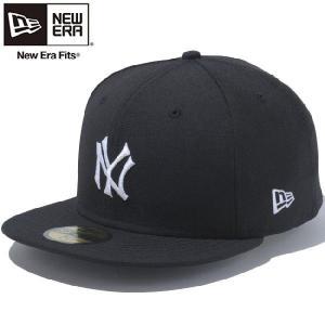 ニューエラ 5950キャップ クーパーズタウン カスタム ニューヨークヤンキース ブラック ホワイト New Era 59Fifty Cap Coopers Town New York Yankees Black|cio