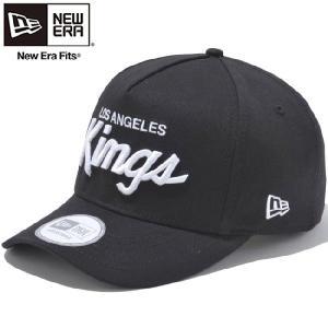ニューエラ ディーフレームトラッカーキャップ ロサンゼルス キングス ブラック スノーホワイト New Era D-Frame Trucker Cap Los Angels Kings Black White cio