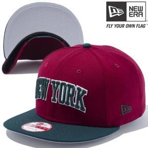 ニューエラ 950スナップバック キャップ アンダーバイザー ニューヨーク カーディナル グリーン グレー New Era Snapback Cap Under Visor New York Cardinal|cio