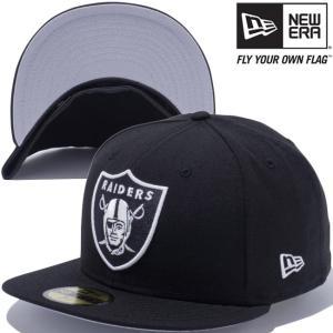 ニューエラ 5950キャップ アンダーバイザー NFLカスタム オークランド レイダース ブラック New Era 59FIFTY Cap Under Visor NFL Custom Oakland Raiders Black|cio