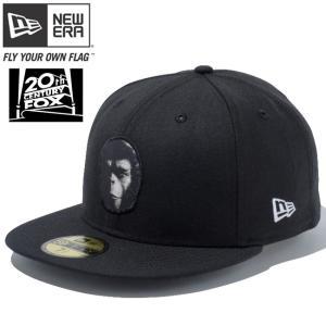 20世紀フォックス×ニューエラ 5950キャップ マルチロゴ 猿の惑星 ブラック Twentieth Century Fox×New Era Cap Multi Logo THE PLANET OF THE APES Black|cio