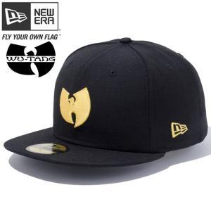 ニューエラ 5950キャップ ゴールドロゴ ウータン ブラック コーンシルク New Era 59FIFTY Cap Gold Logo Wu-Tang Black Corn Silk cio